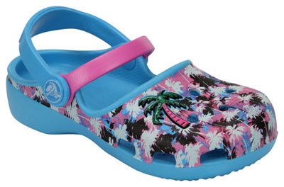 Karin Novelty Clog Electric Blue