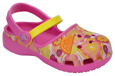 Karin Novelty Clog Party Pink