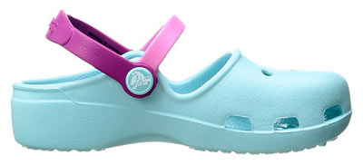 Kids Karin Clog Ice Blue